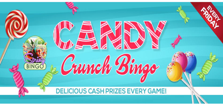 candy crunch bingo event