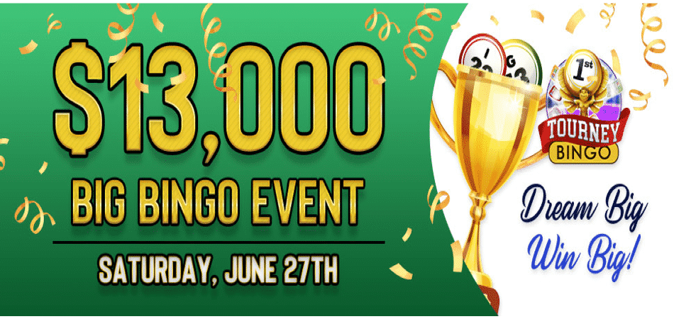 june big bingo event