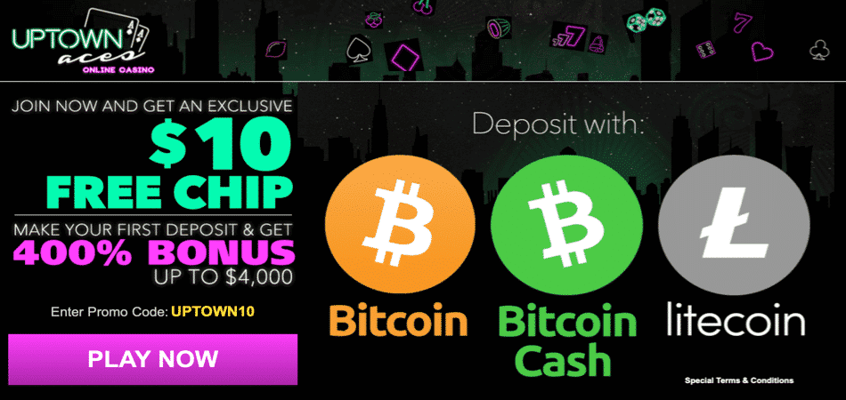 $10 free chip cryptocurrency bonus code