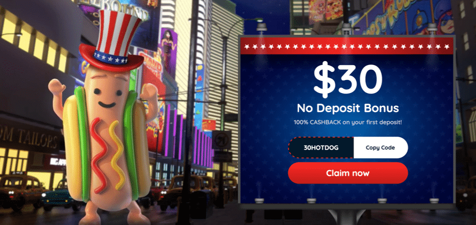 $30 no deposit bonus code at freespin casino
