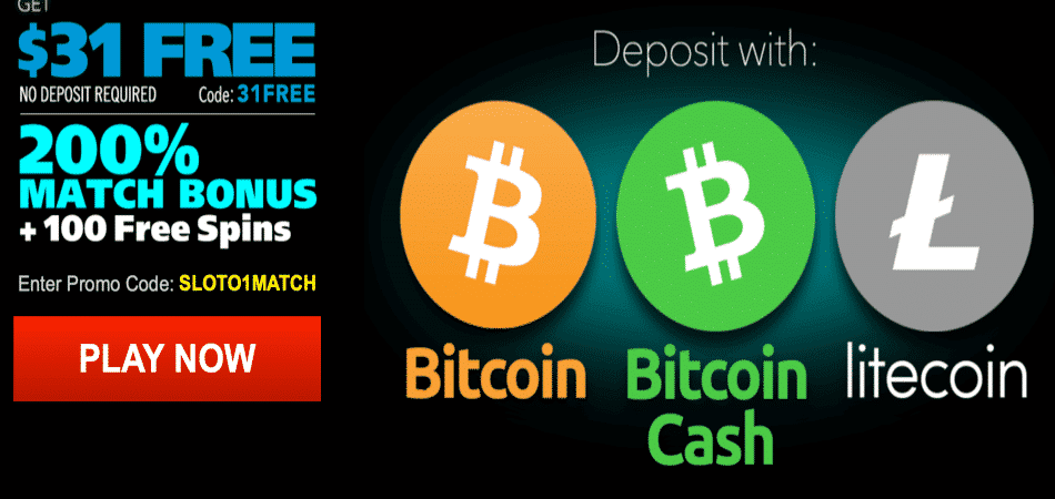 $31 no deposit bonus code in cryptocurrency