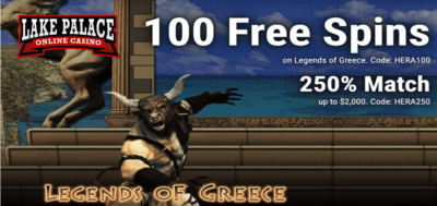 legender of greece slot bonus code