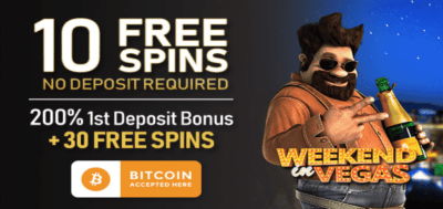 10 free spins bitcoin registration bonus