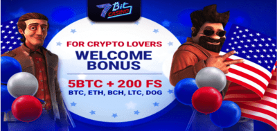 bitcoin free spins at 7bit casino