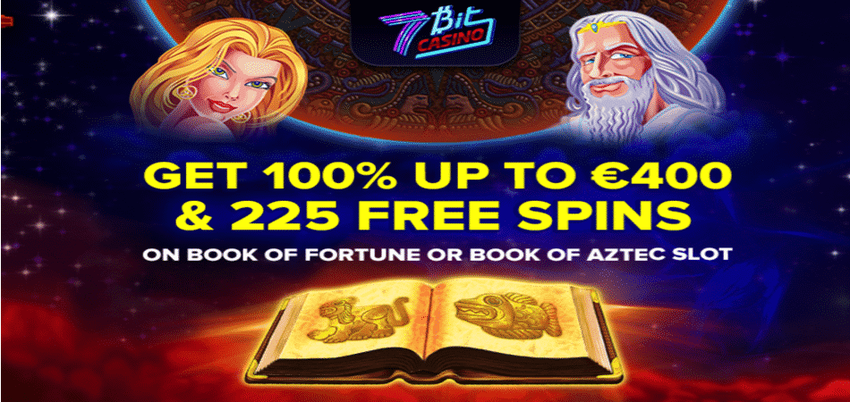 book of aztec free spins at 7bit casino