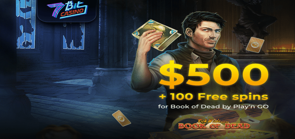 book of dead free spins at 7bit casino