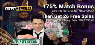 wolf street bonus code at crypto thrills