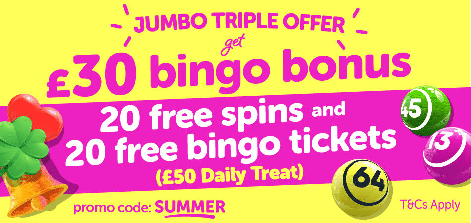 dinky bingo triple offer bonus code
