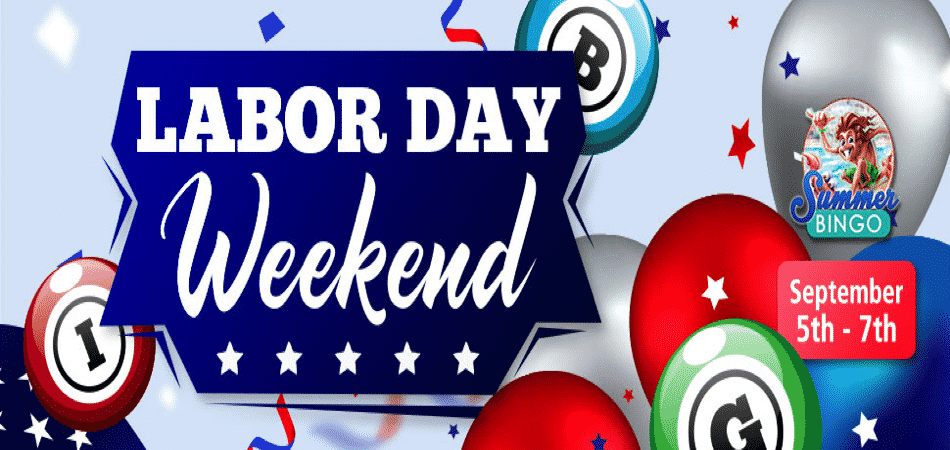labor day event at bingo spirit