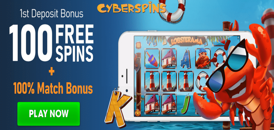 lobsterama free spins bonus code