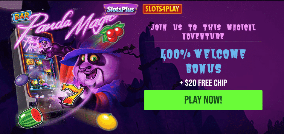 panda magic slots no deposit bonus