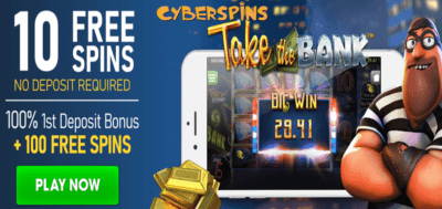 take the bank slots no deposit
