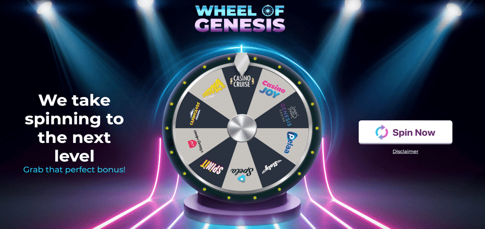 wheel of genesis bonus