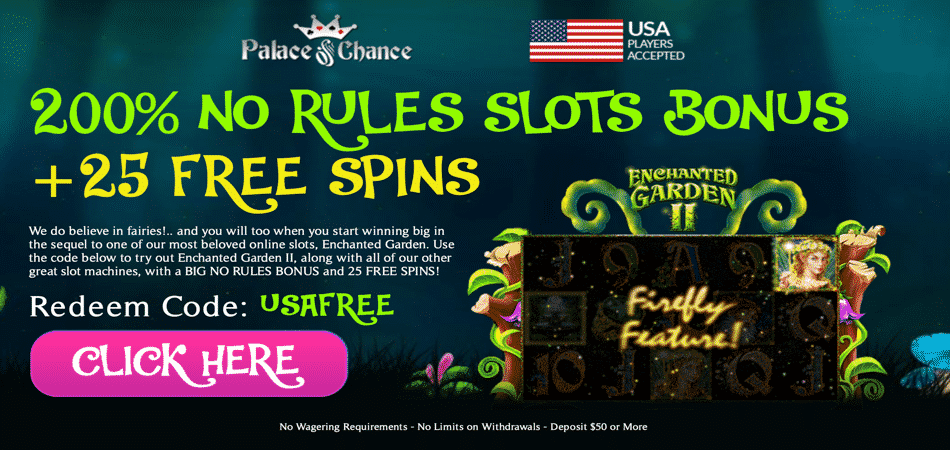 25 free spins in enchanted garden 2 slots