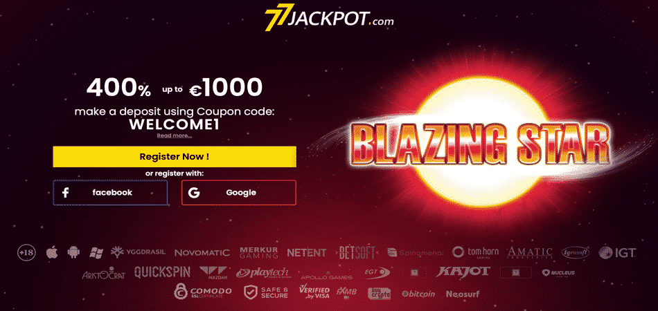 blazing star bonus offer