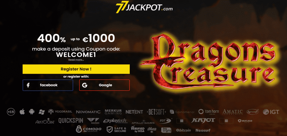 dragons treasure bonus offer