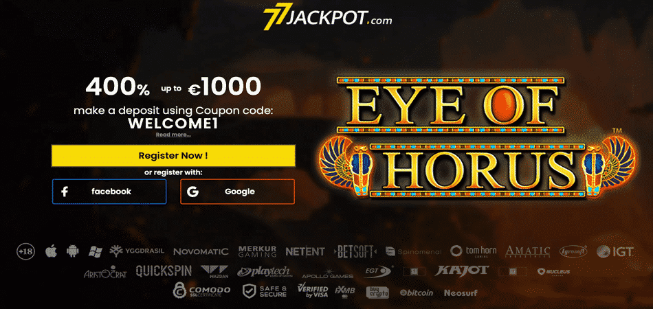 eye of horus bonus offer