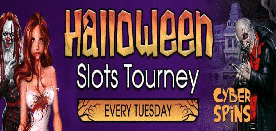 halloween slots tournament at cyber spins