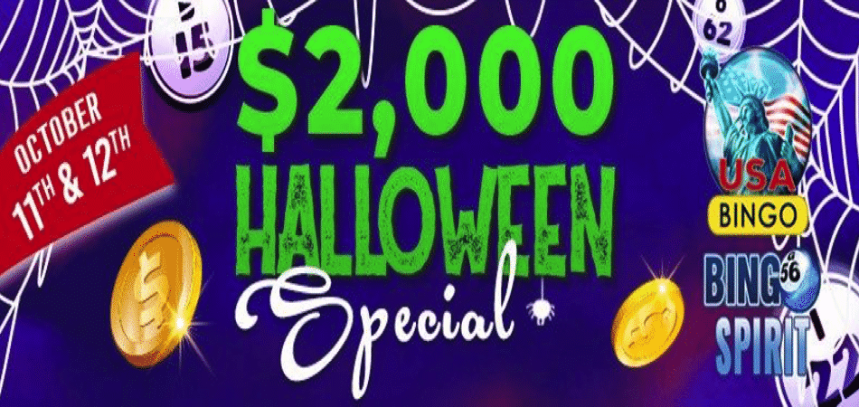 halloween special $2000 slots tournament