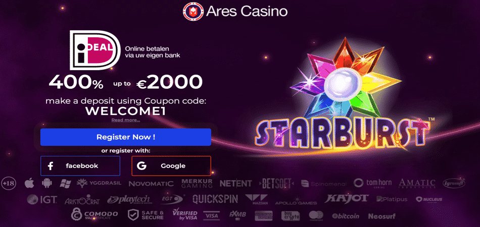 starburst bonus for dutch players