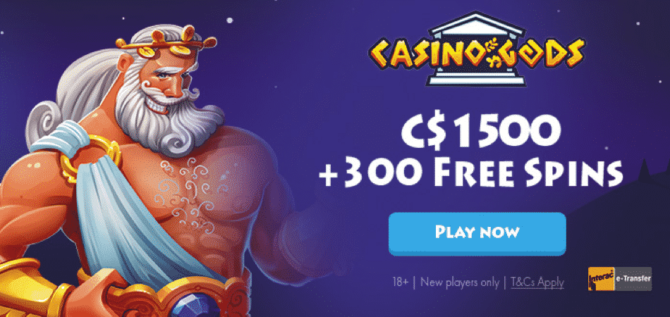 casino gods canada bonus offer