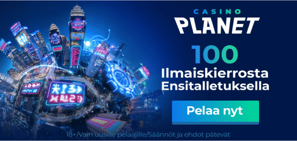 casino planet finland bonus offer