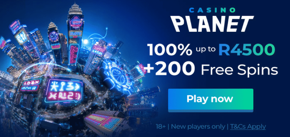 casino planet south africa bonus offer