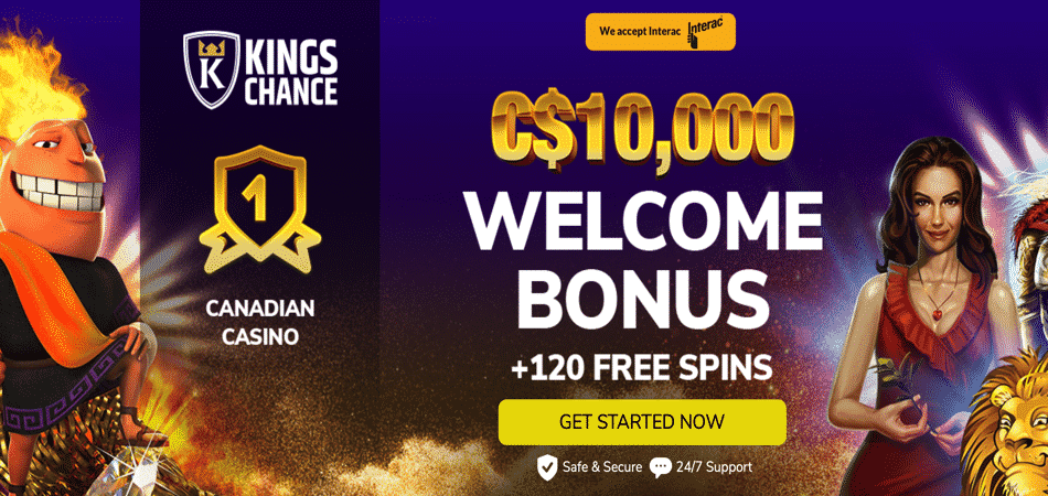 kings chance microgaming slots offer