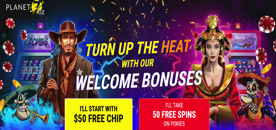 pokies offer for australian players at planet 7 oz casino