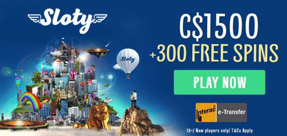 sloty casino canada bonus offer
