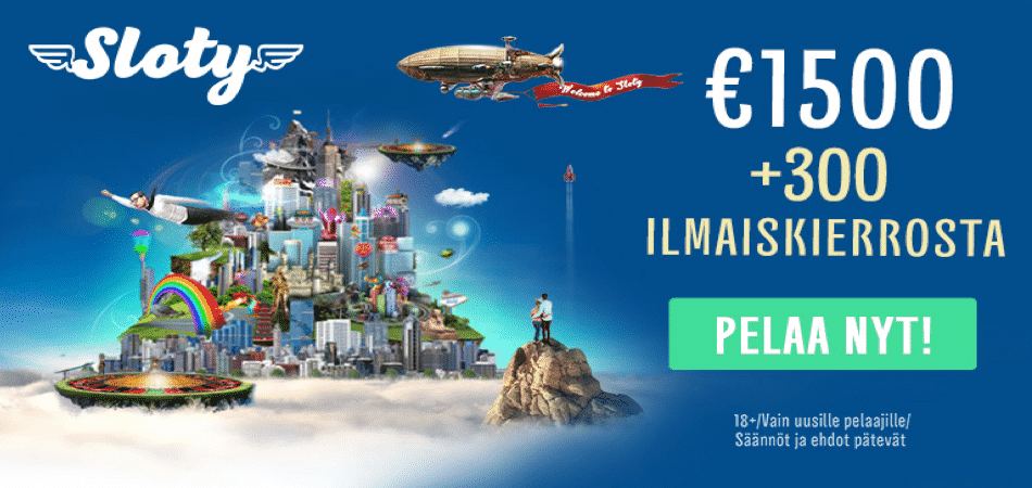 sloty casino finland bonus offer