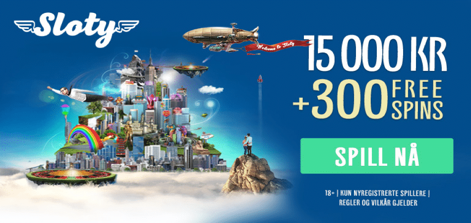 sloty norway bonus offer