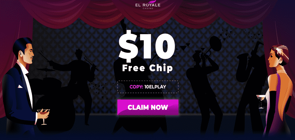 el royale no deposit required bonus code