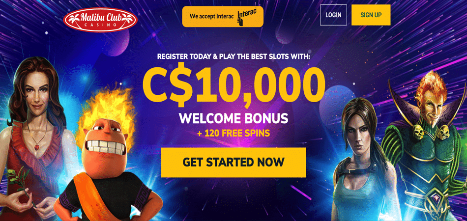 malibu club microgaming free spins