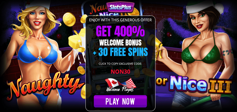 naughty or nice 3 slots free spins bonus code