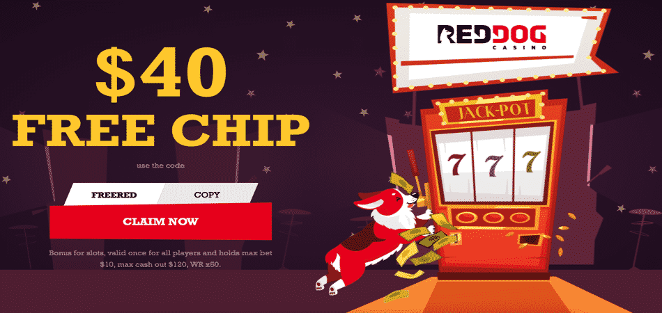 red dog $40 no deposit bonus code