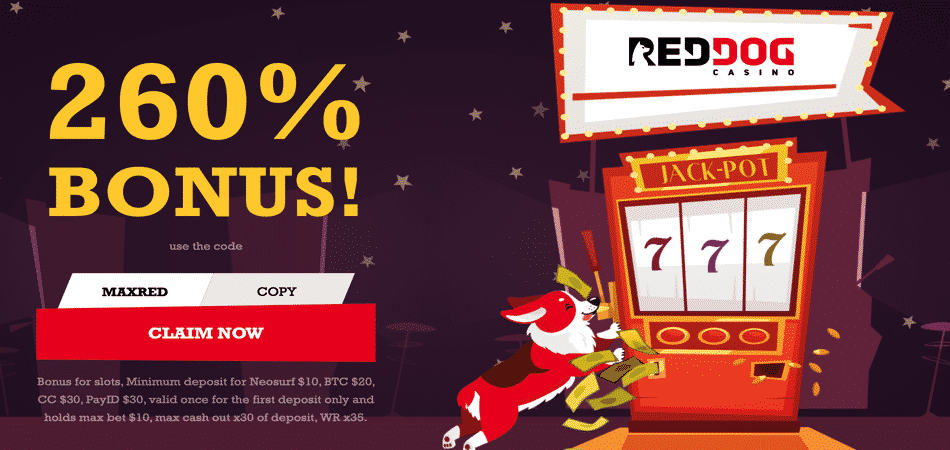 red dog deposit bonus code