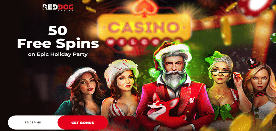 red dog epic holiday party bonus code