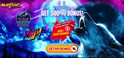 slotjoint bitcoin bonus offer