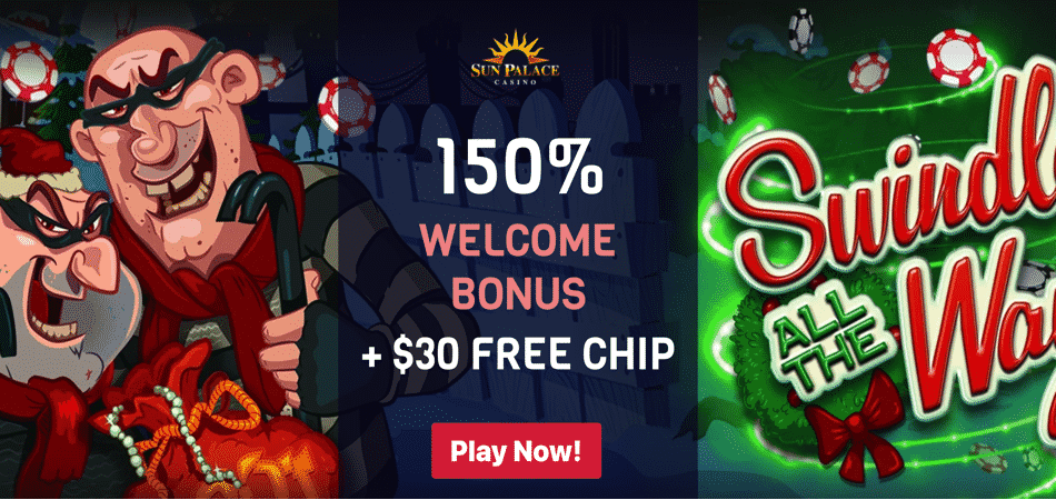 sun palace swindle all the way no deposit bonus code