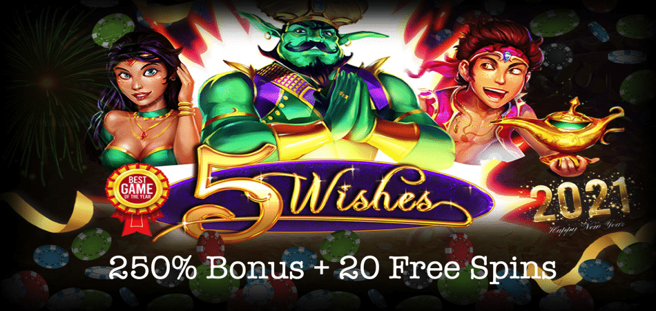 5 wishes new year bonus