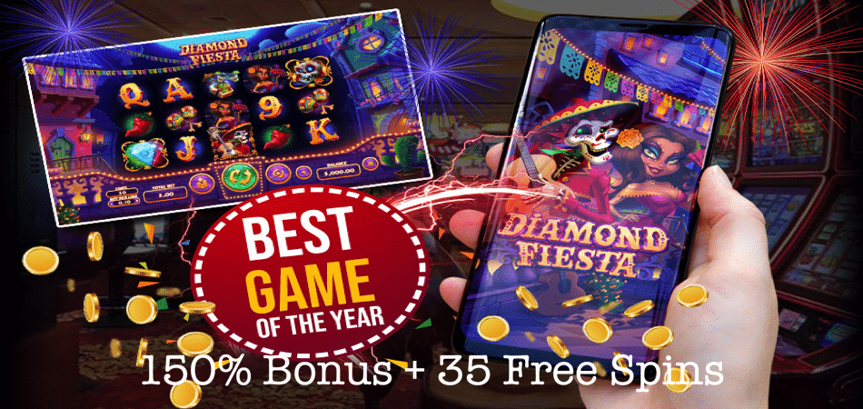 diamond fiesta free spins sun palace