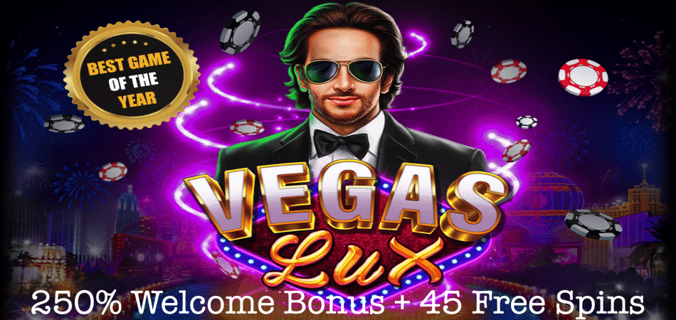 free spins on vegas lux at lucky hippo