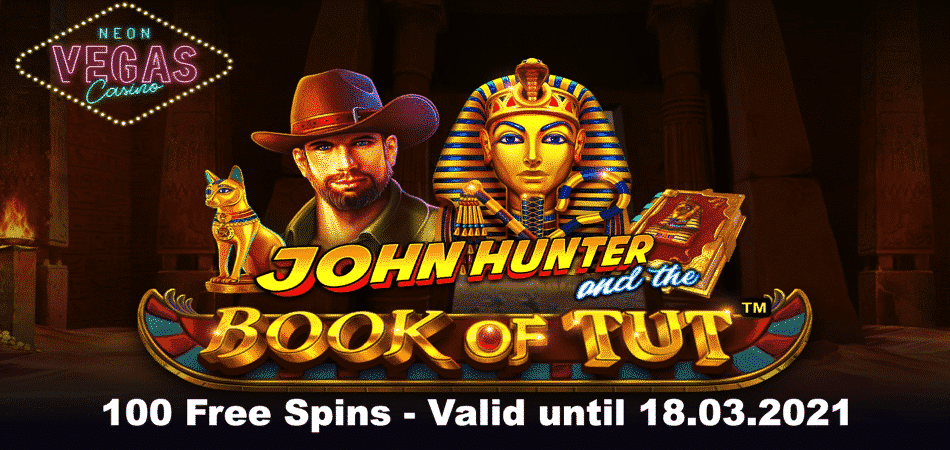 100 free spins promo code - john hunter