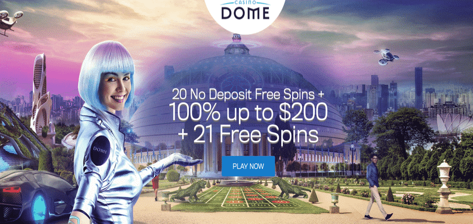 20 spins no deposit required in casino dome