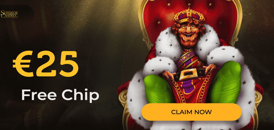 €25 free chip bonus code at superior casino