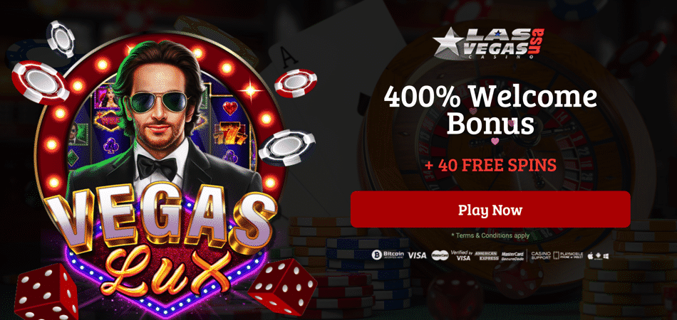 40 free spins on vegas lux at las vegas usa casino