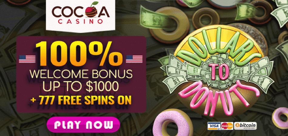cocoa casino american offer 777 free spins