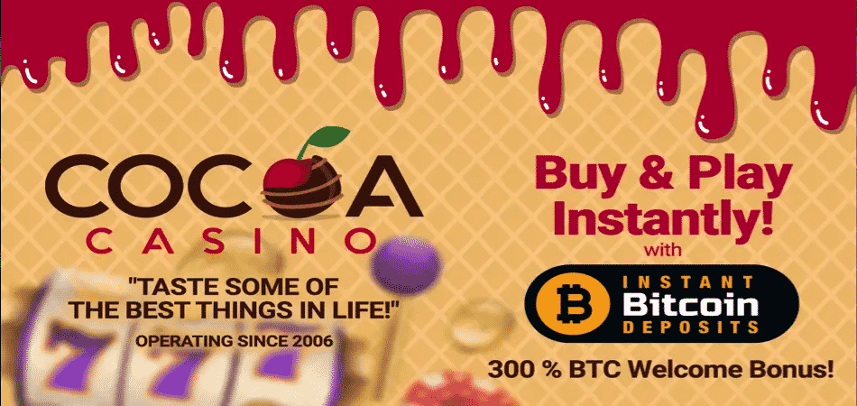 cocoa casino bitcoin offer