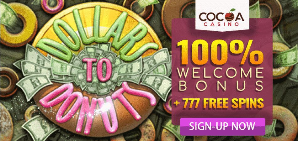 cocoa casino french offer 777 free spins